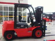3 Stage Mast Diesel Engine Forklift 4.5m Lifting Height With Structural Painting
