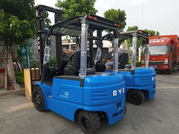 BYD Counterbalance Lift Truck, BYD Electric Forklift 3.5 Ton Load Capacity With 4 Wheel
